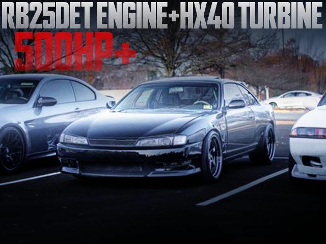 RB25DET TURBO ENGINE S14 KOUKI 240SX