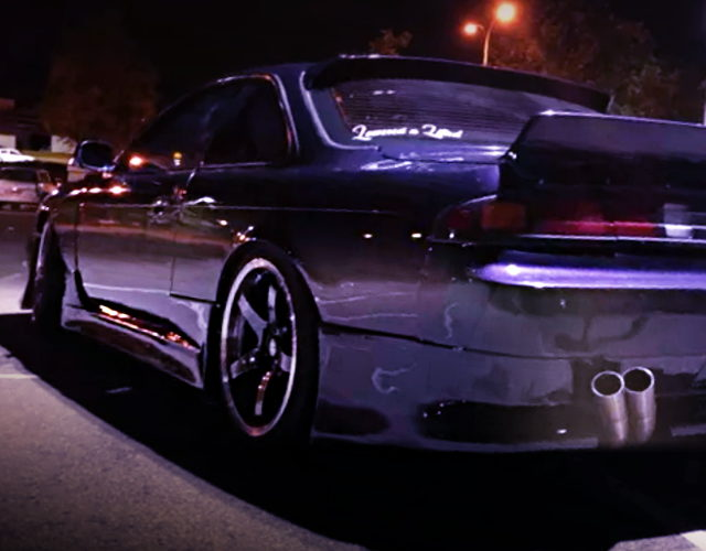 LEFT SIDE REAR EXTERIOR S14 200SX