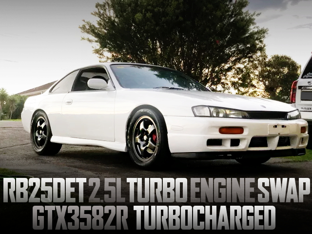 RB25DET TURBO ENGINE S14 SILVIA