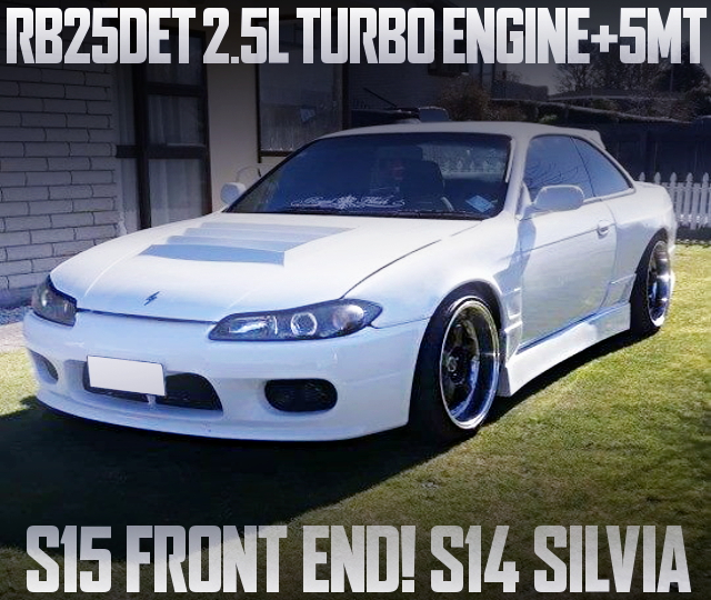 S15 FRONT END S14 SILVIA