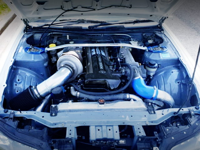 2JZ-GTE ENGINE WITH SINGLE TURBO