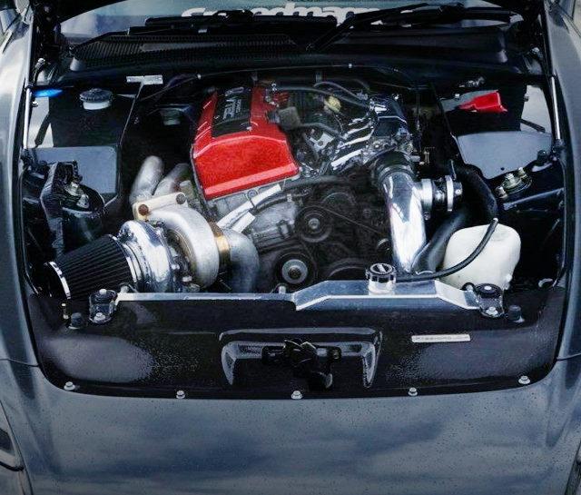 TURBOCHARGED F20C VTEC ENGINE