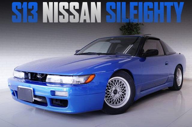 BLUE NISSAN SILEIGHTY INITIAL-D