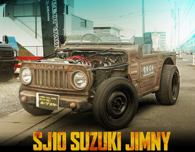 RAT ROD CUSTOM SUZUKI SJ10 JIMNY