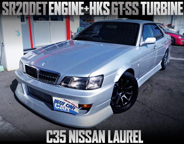 SR20DET TURBO ENGINE SWAP C35 LAUREL MEDALIST