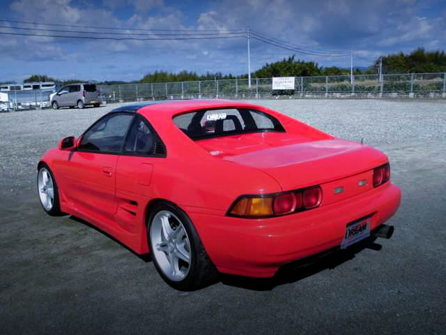 REAR EXTERIOR SW20 MR2 RED