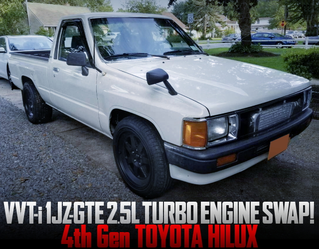 VVTi 1JZ TURBO ENGINE 4th Gen HILUX