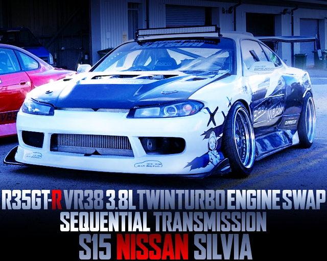 VR38 TWINTURBO ENGINE S15 SILVIA