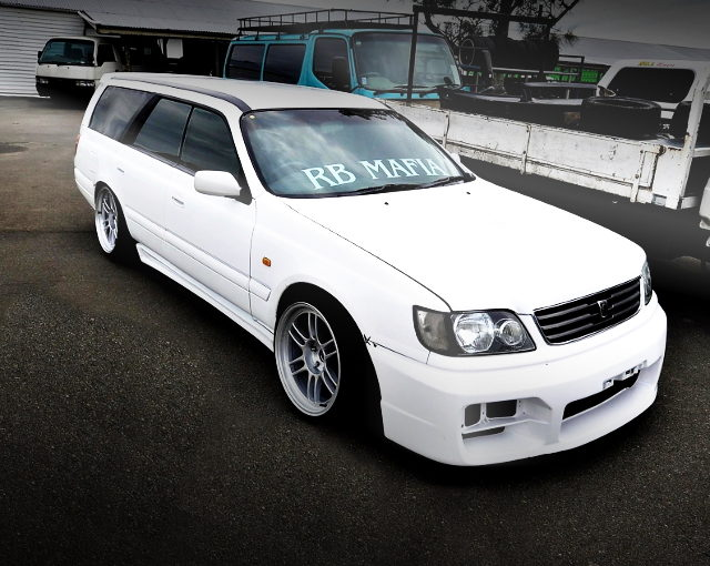 FRONT EXTERIOR WC34 STAGEA DRIFT SPEC