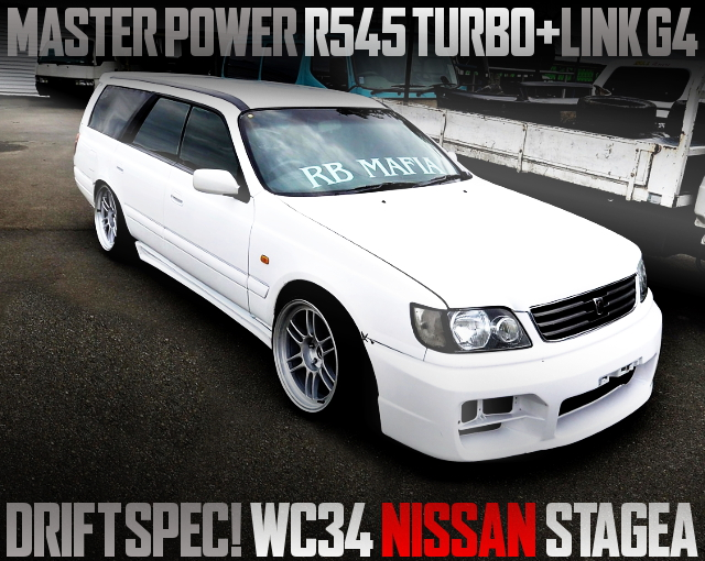 MASTER POWER TURBO WC34 STAGEA DRIFT SPEC