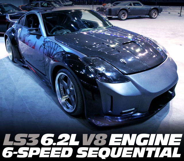 LS3 V8 ENGINE WITH 6MT Z33 350Z