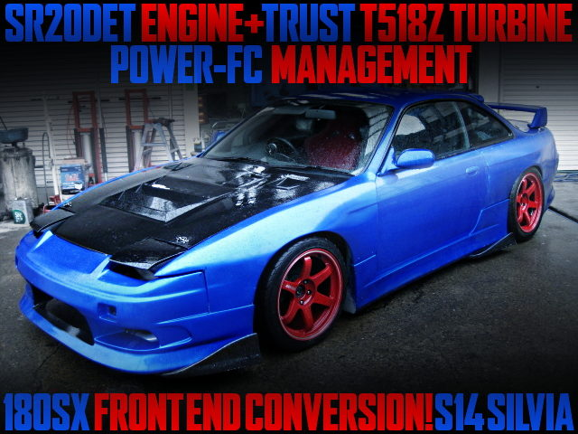 180SC FRONT END CONVERSION S14 SILVIA