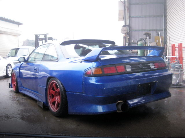 REAR TAIL LIGHT S14 SILVIA BLUE