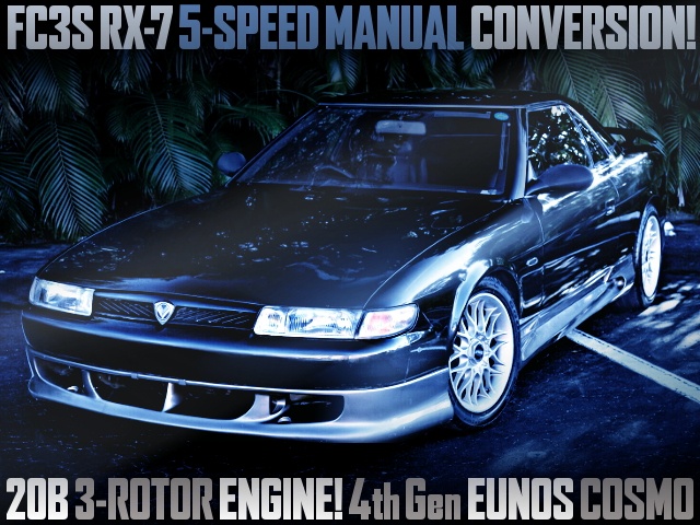 5MT CONVERSION 4th Gen EUNOS COSMO