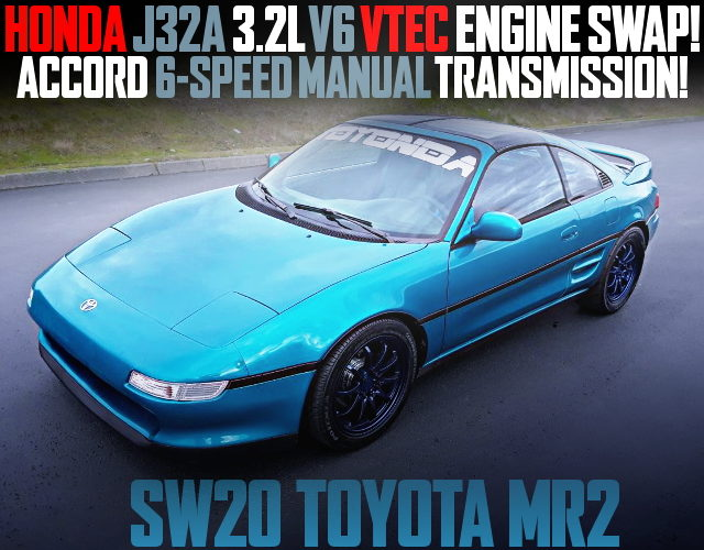 J32A V6 VTEC AND 6MT WITH AW20 MR2