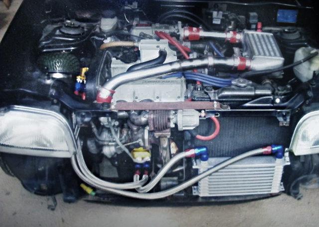 WASTEGATE ON F6A TURBO ENGINE
