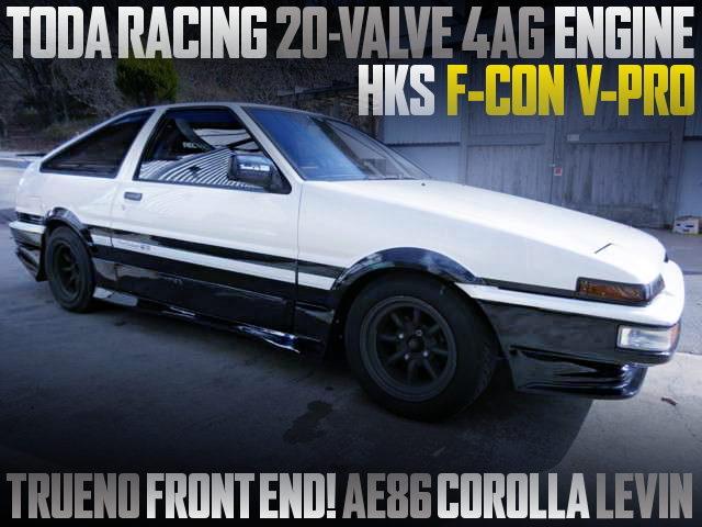 TODA RACING 20-VALVE 4AG INTO AE86