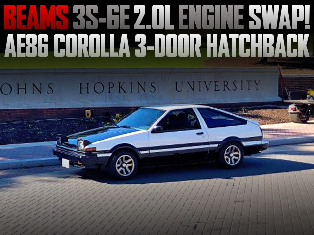 BEAMS 3S-GE ENGINE SWAP AE86 COROLLA 3-DOOR
