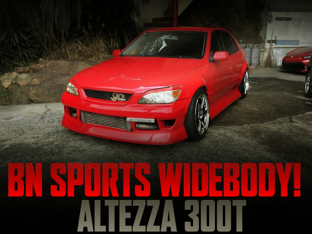 BN-SPORTS WIDEBODY LIMITED MODEL ALTEZZA 300T