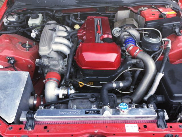 3S-GE KAI TURBO ENGINE FROM ALTEZZA 300T