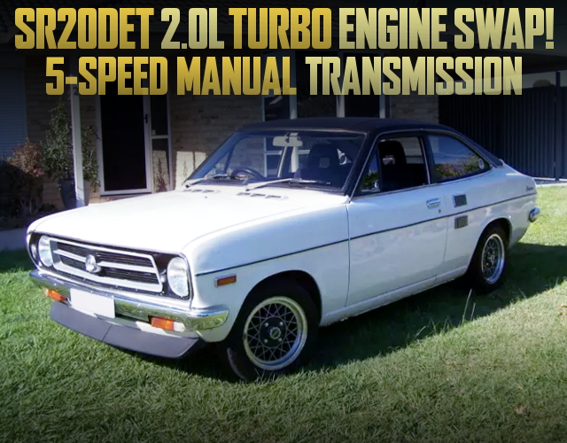 SR20DET TURBO ENGINE SWAP B110 DATSUN SUNNY COUPE