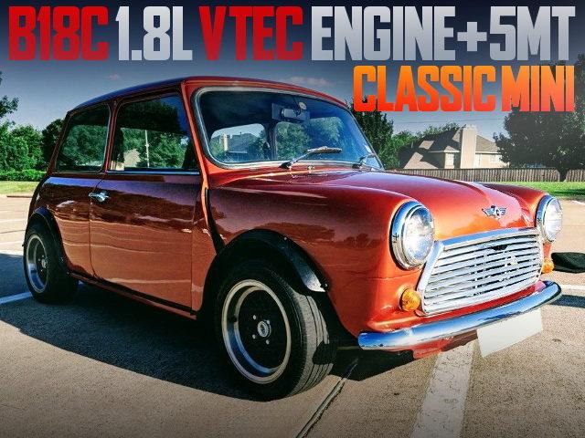B18C VTEC ENGINE SWAP CLASSIC MINI