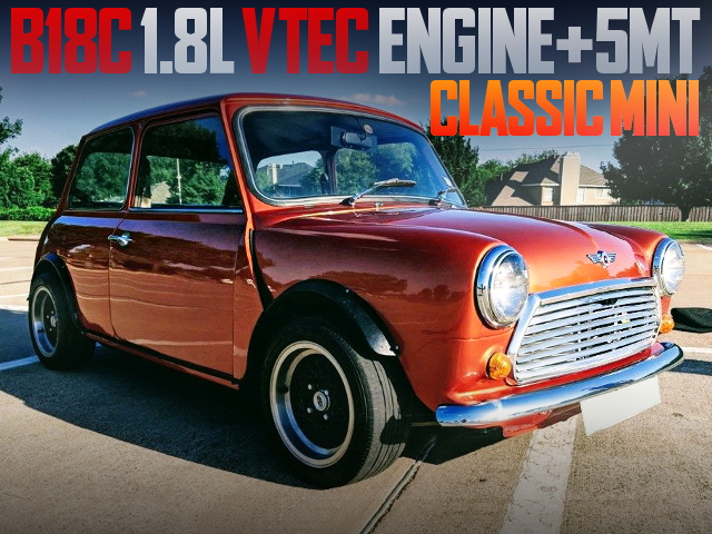 B18C VTEC ENGINE SWAP CLASSIC MINI