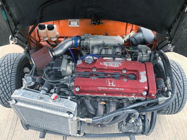 B18C 1800cc VTEC ENGINE SWAP MINI