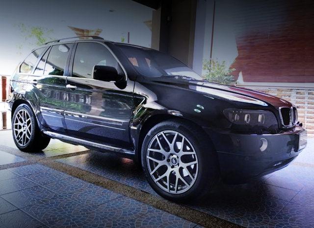SIDE EXTERIOR E53 BMW X5