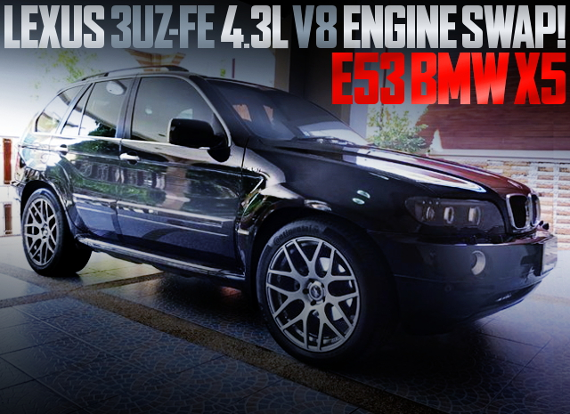 3UZ-FE 4300cc V8 ENGINE SWAP E53 BMW X5