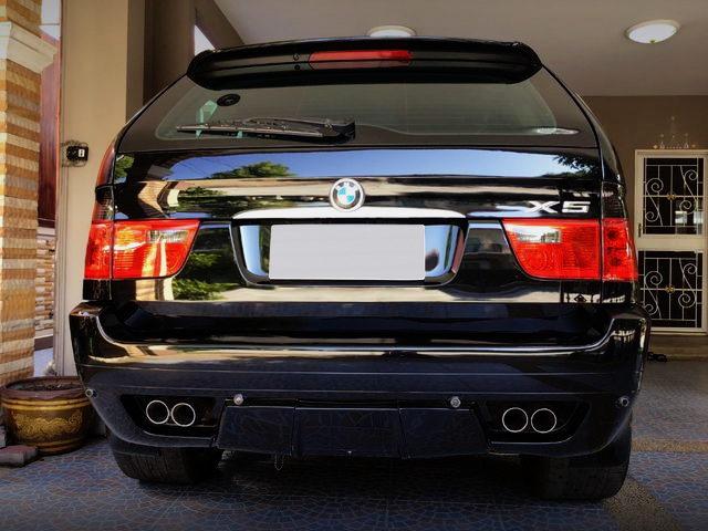 REAR EXTERIOR E53 BMW X5
