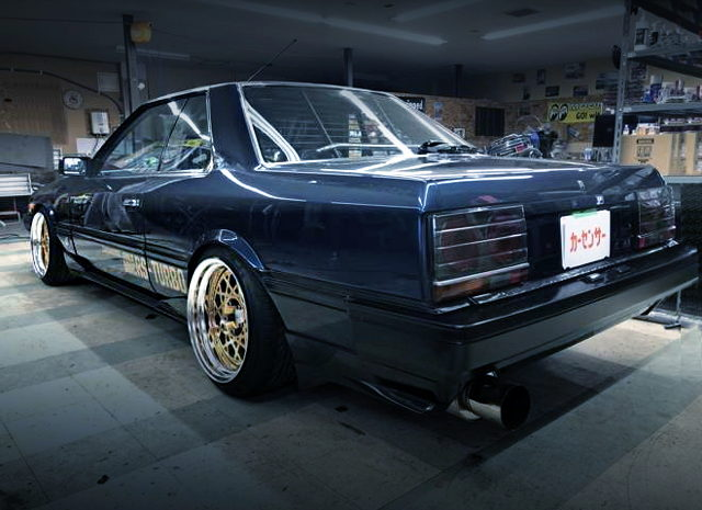 REAR EXTERIOR DR30 SKYLINE RS-TURBO