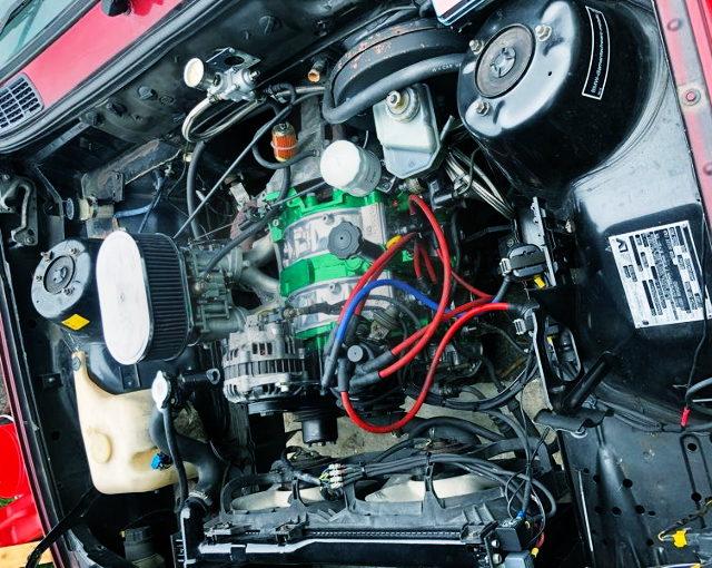 CARB ON 13B ROTARY ENGINE