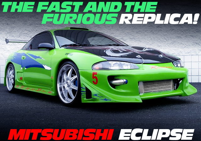 FURIOUS REPLICA MITSUBISHI ECLIPSE