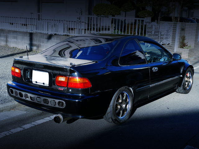 REAR EXTERIOR EJ1 CIVIC COUPE