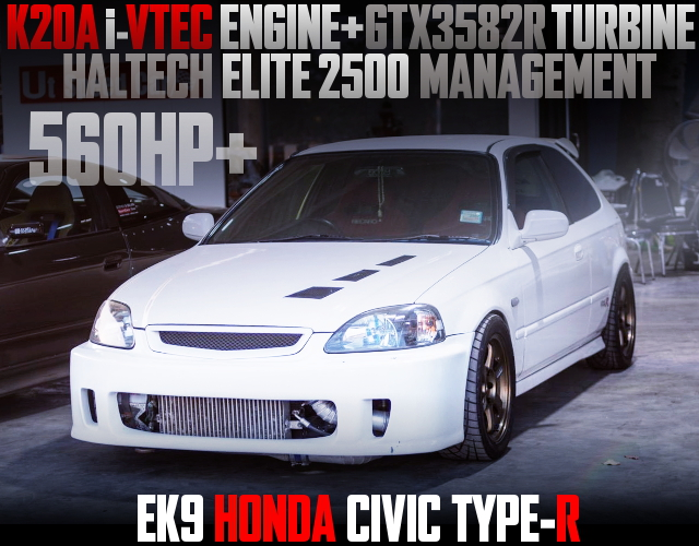 500HP K20A TURBO INTO EK9 CIVIC TYPE-R