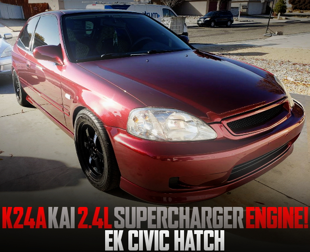 SUPERCHARGED K24A SWAP FOR EK CIVIC