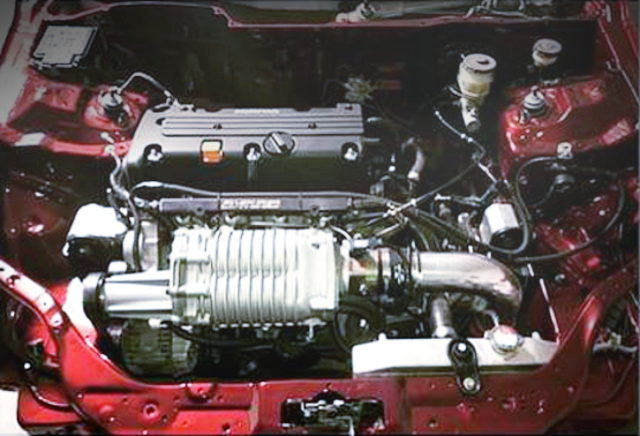 K24A 2400cc iVTEC SUPERCHARGER ENGINE