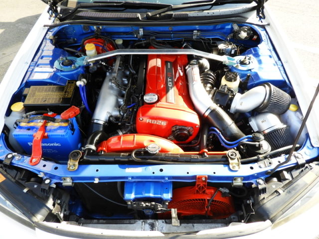 RB26 GT-SS TWINTURBO ENGINE