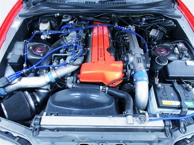2JZ-GTE TWINTURBO ENGINE TO VALVE COVER ORANGE