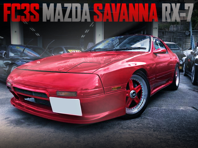 AFTERMARKET TURBOCHARGED FC3S SAVANNA RX-7