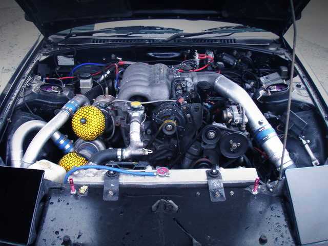 20B 3-ROTOR TWINTURBO ENGINE