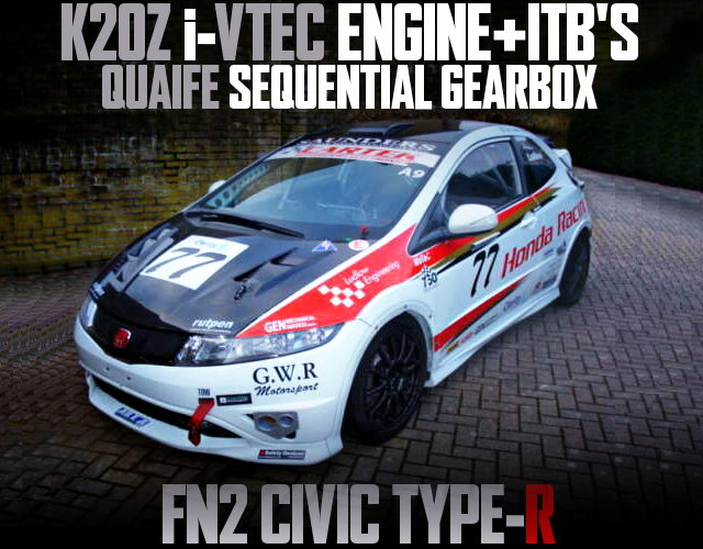 K20Z iVTEC ENGINE WITH ITB OF FN2 CIVIC TYPE-R EURO