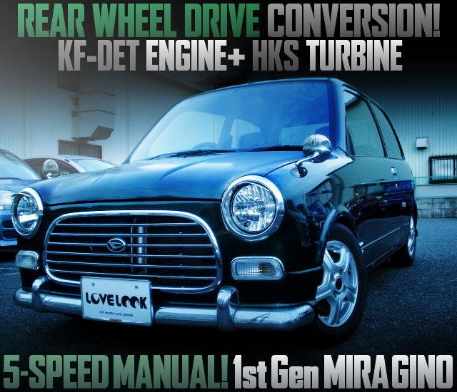 REAR WHEEL DRIVE CONVERT TO 1ST GEN MIRAGINO