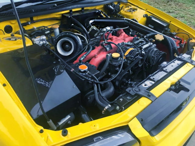 TOP-MOUNT TO4Z TURBO ON EJ20 BOXER ENGINE