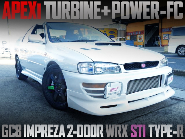 APEXi TURBOCHARGED GC8 IMPREZA WRX TYPE-R STI VERSION