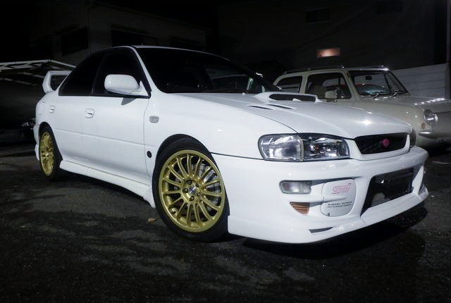 FRONT EXTERIOR GC8 WRX STI VERSION VI