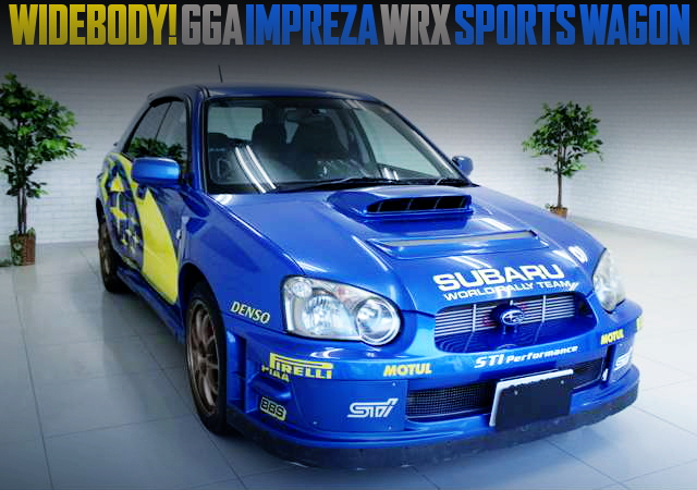 WRC DECAL AND WIDEBODY WITH GGA WRX WAGON