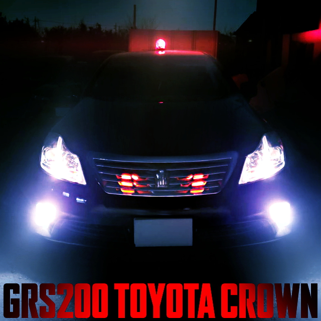 POLICE CAR REPLICA GRS200 CROWN