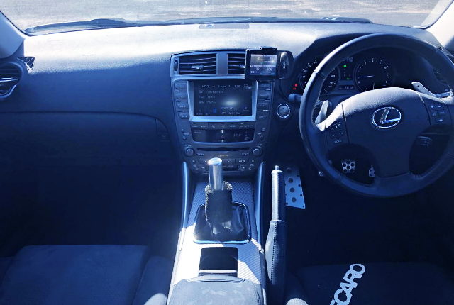 MANUAL CONVERSION INTERIOR FOR GSE21 LEXUS IS350